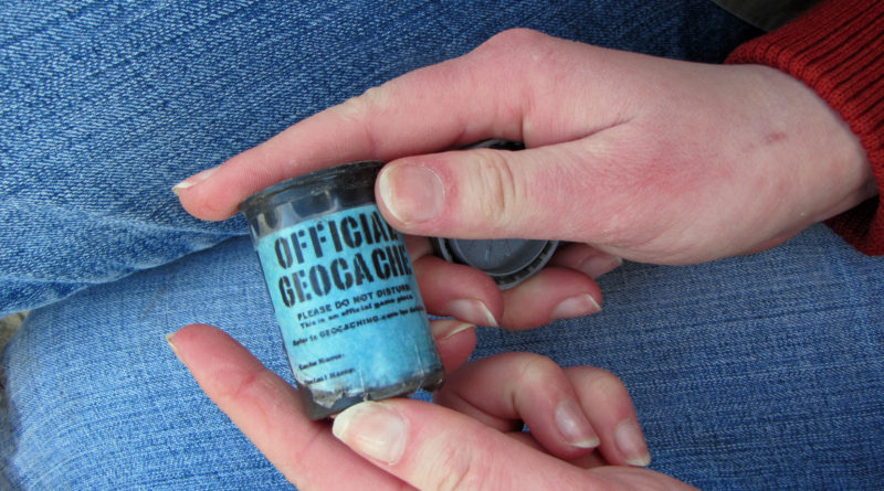 Canister Geocaching Container