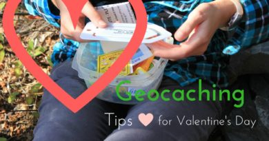 Geocaching Tips for Valentine's Day
