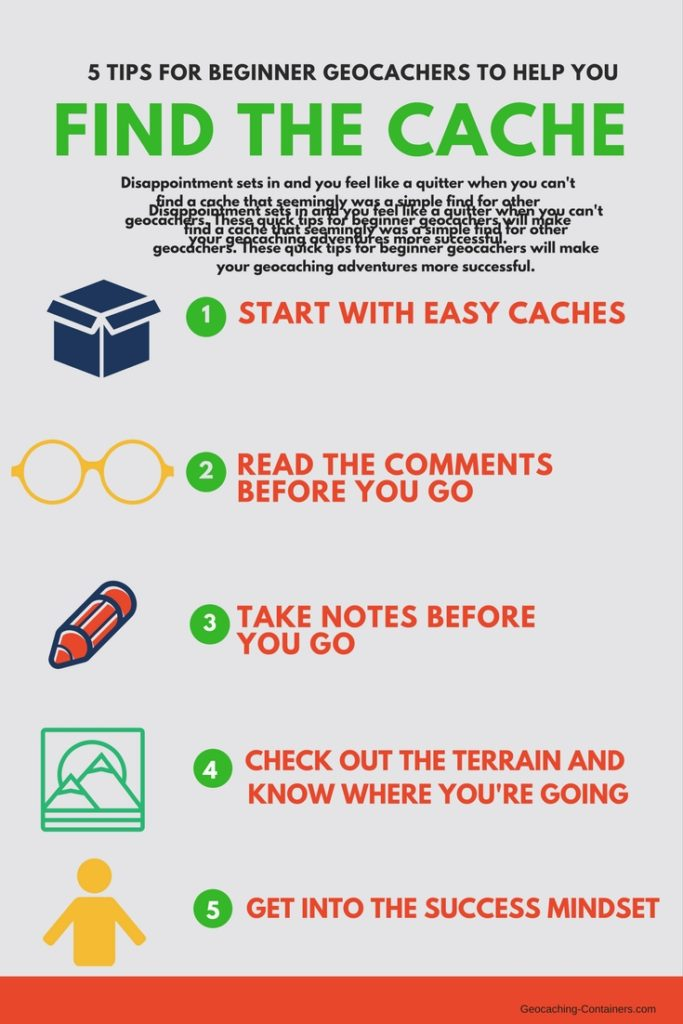 5 tips to help you find the cache