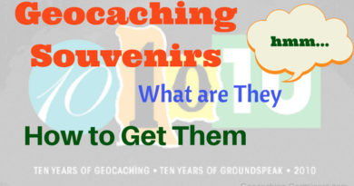 Geocaching Souvenirs – What Are They and How to Get Them!