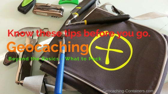Geocaching - What to Pack